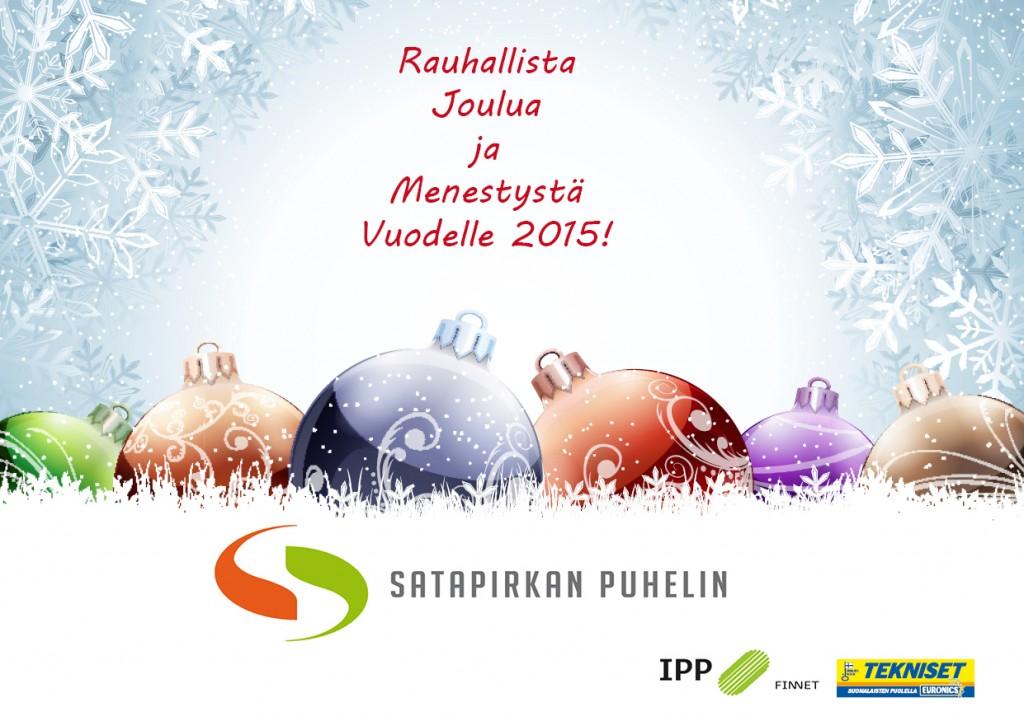 Hyvää Joulua SPPltä