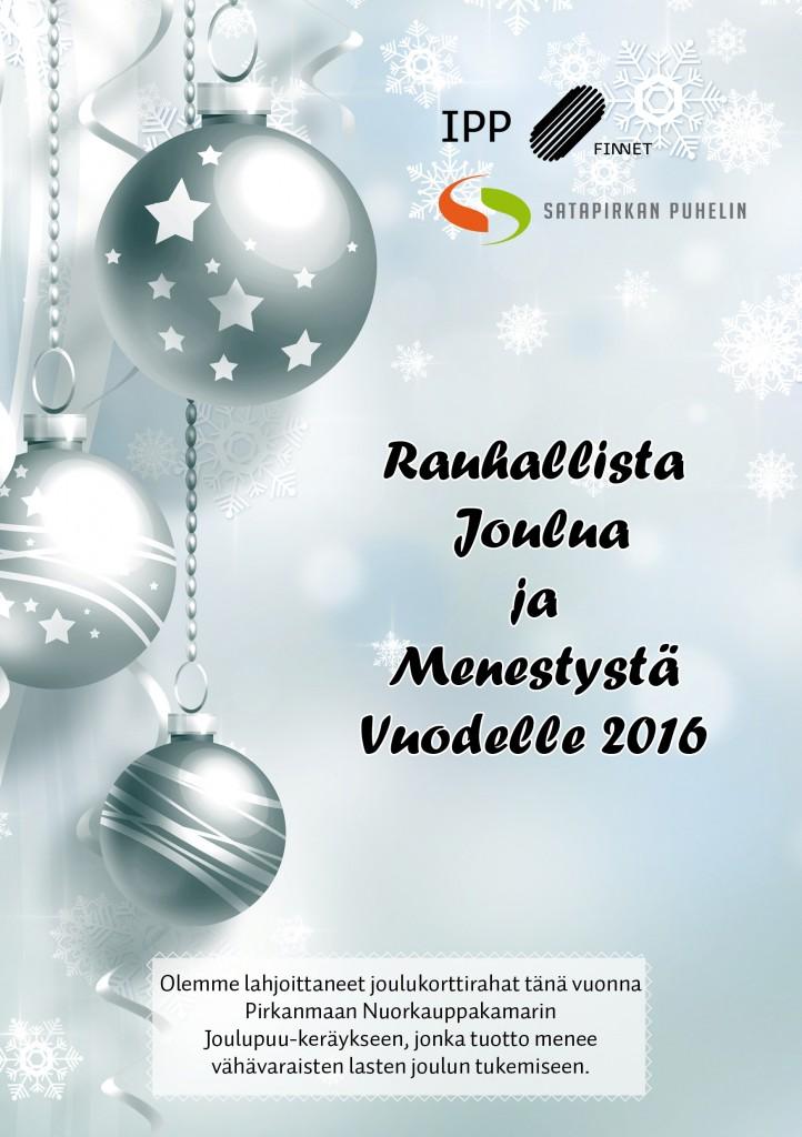 Hyvää Joulua 2015_SPP